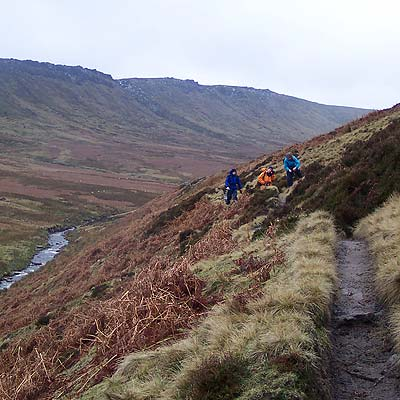 The Snake Path by Kinder Scout