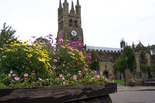 Image: The cathedral of the Peak, Taddington church.